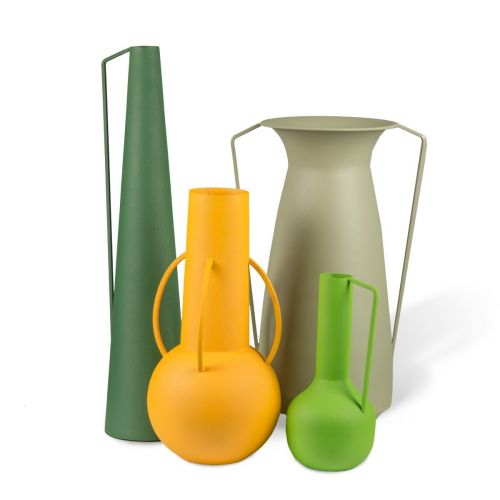 Pols Potten Vases Roman green set van 4  01