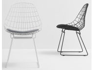 Pastoe Wire chair SMO5 eetkamerstoel